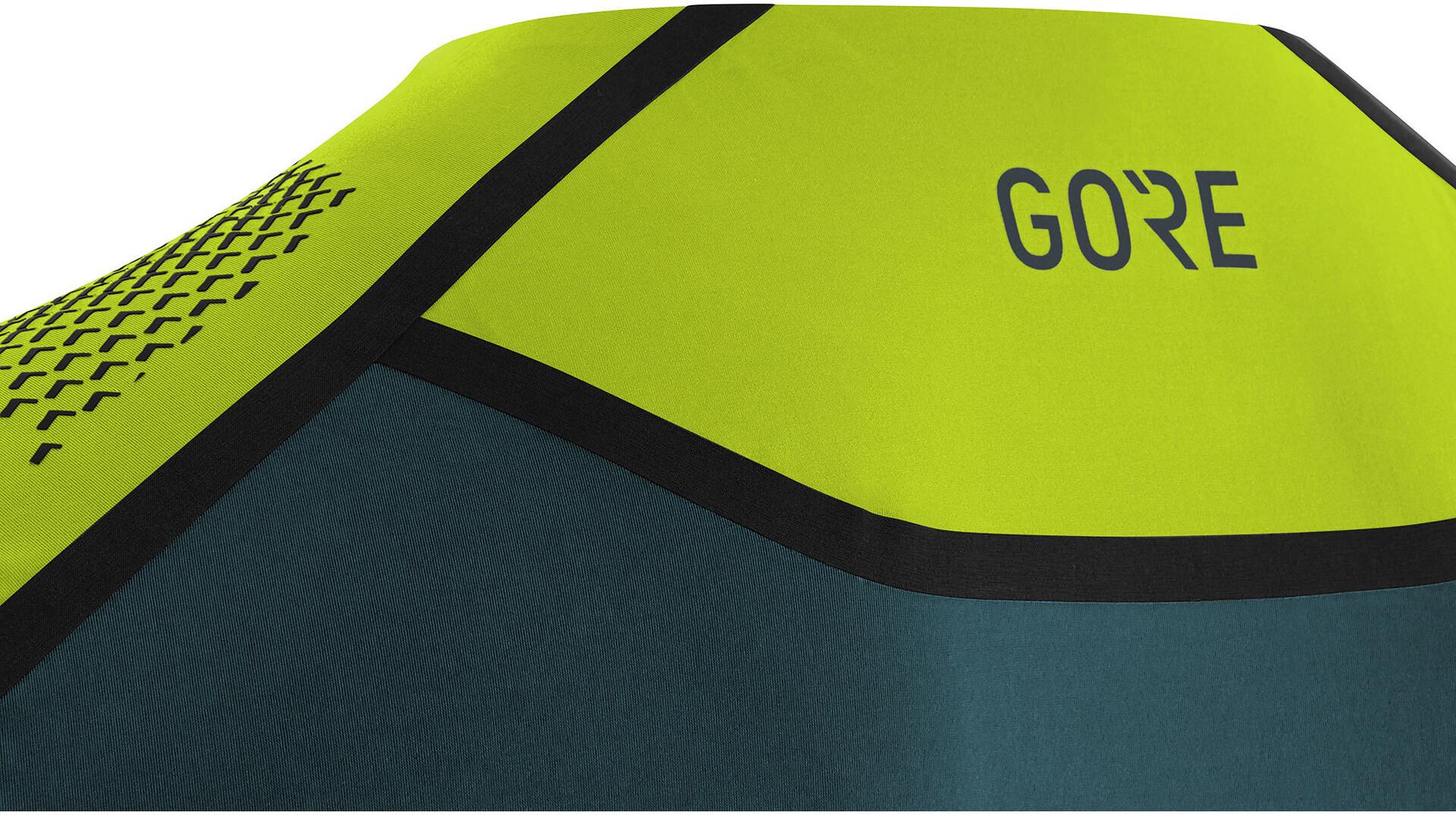 GORE WEAR R7 Maglietta Uomo, citrus green/dark nordic blue su Addnature RIRcV